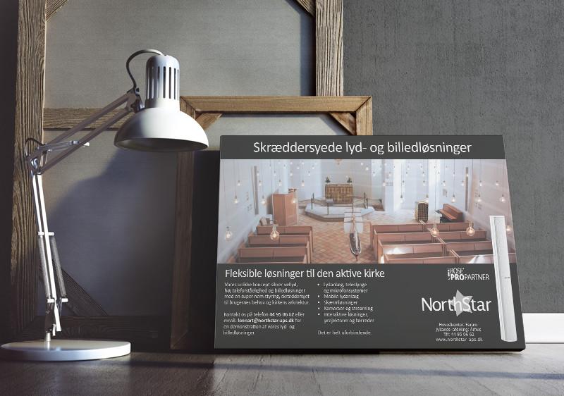 Annonce Alles Anders grafisk design og tekstarbejde